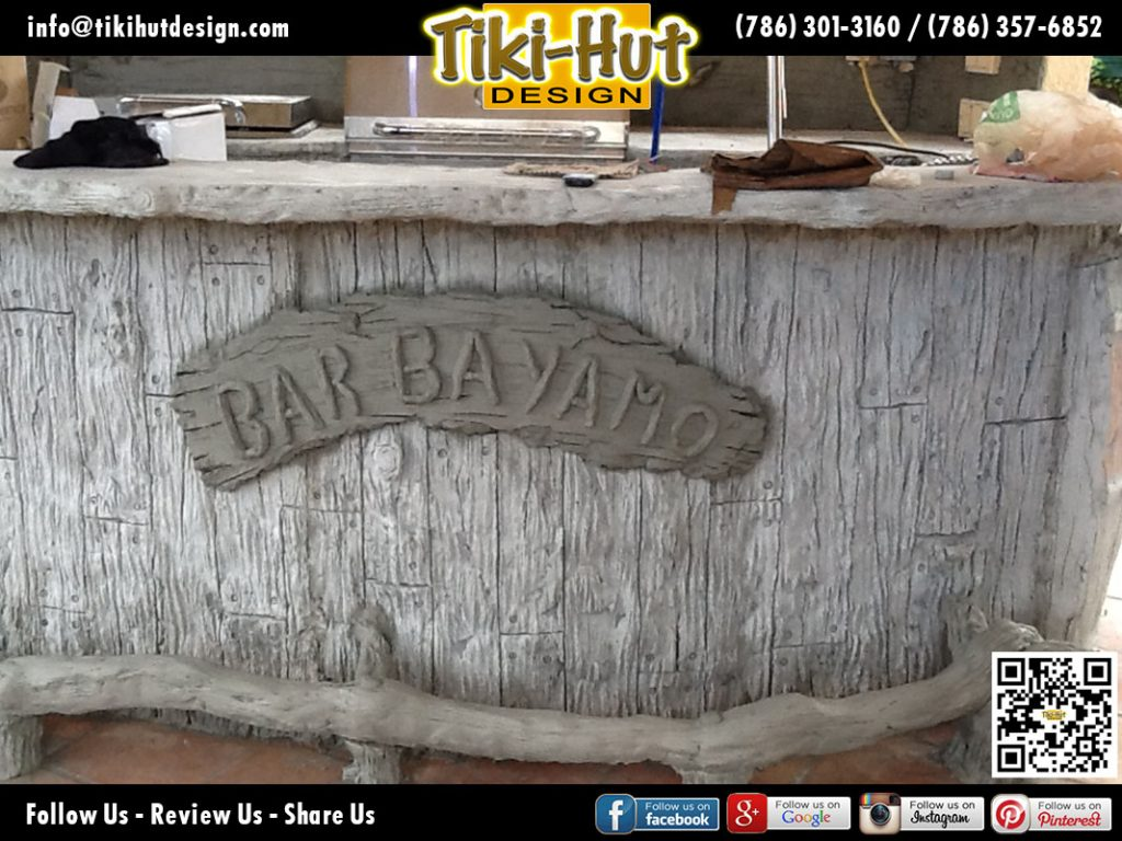 Custom-Cement-Bar-and-Outdoor-Kitchen-under-Construction-by-Tiki-Hut-Design-of-Miami