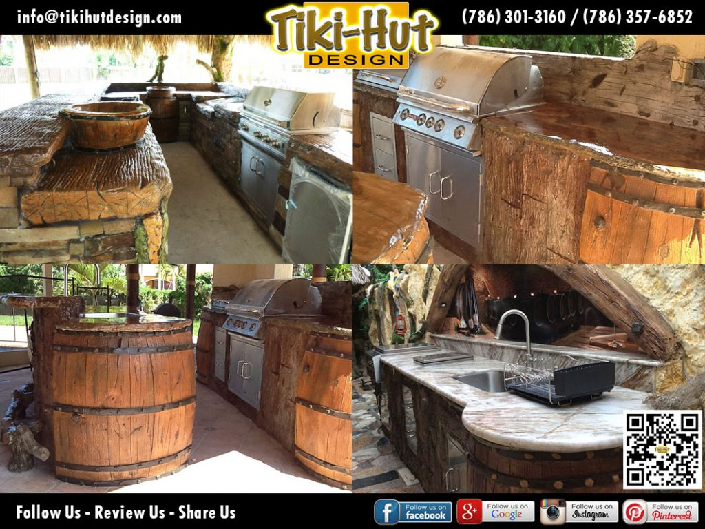 Custom-Cement-Wine-Barrel-Counter-Top-Tiki-Hut-Design-Miami
