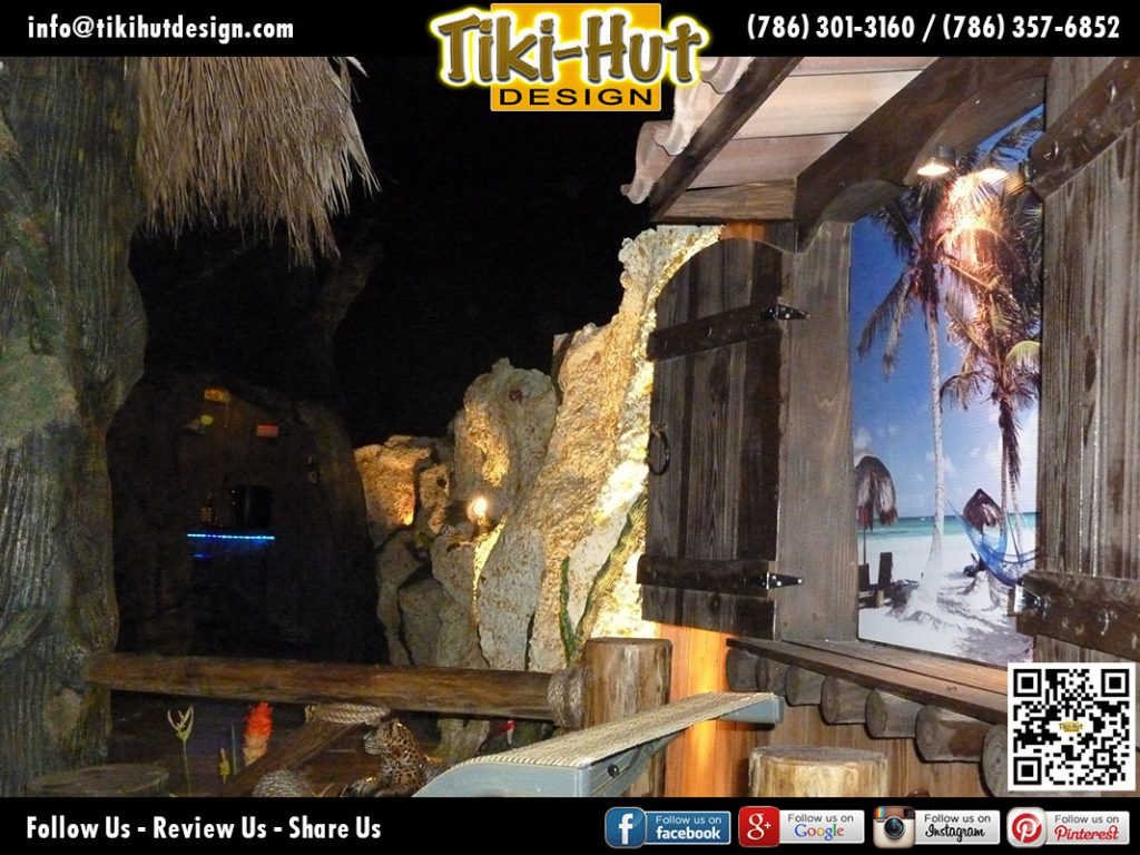 Picture-Window-at-night-by-Tiki-Hut-Design-of-Miami