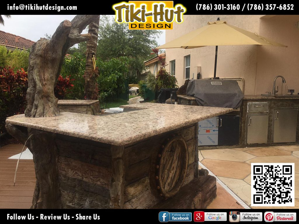 tiki-hut-design-cement-barrel-with-marmol-countertop-finished