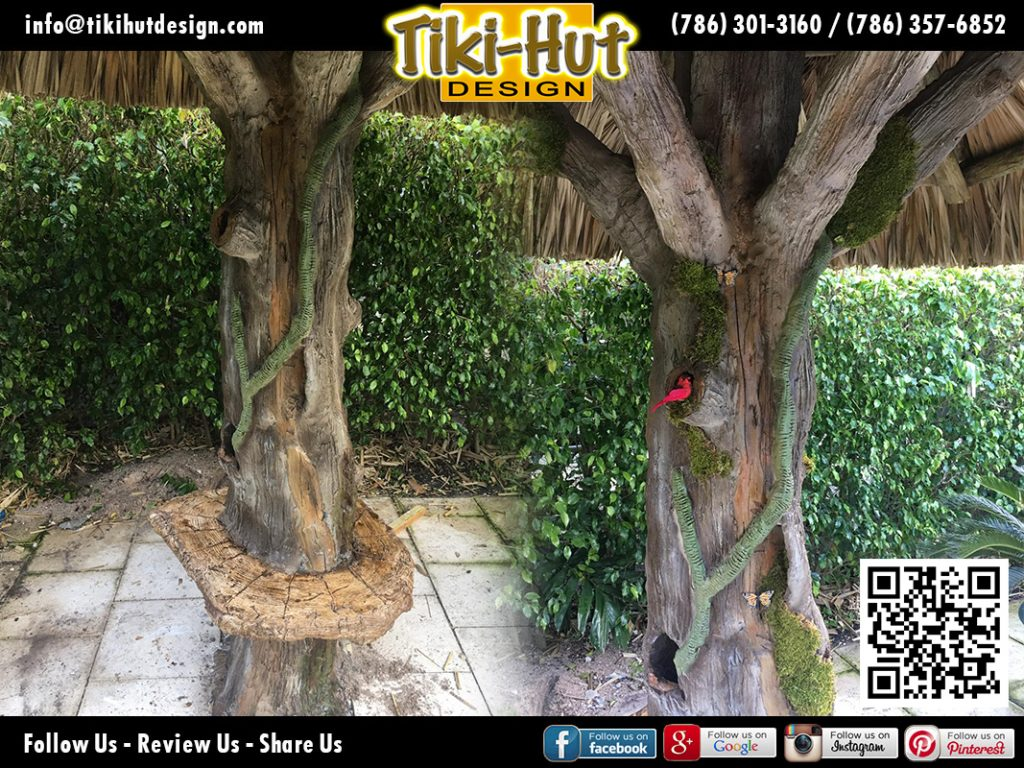 tiki-hut-design-cement-trees
