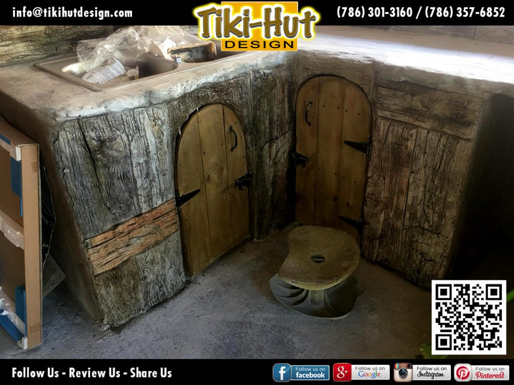 tiki-hut-design-kitchen-counter-corner-barrel-corner-doors
