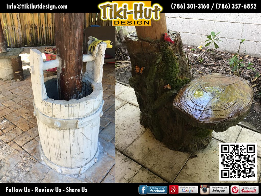 tiki-hut-design-pole-barrel-and-seat